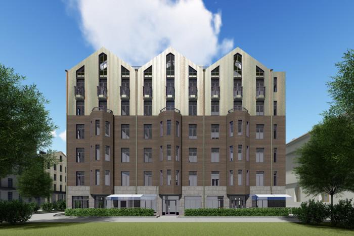 На Звенигородской улице в Петербурге появится новый жилой комплекс