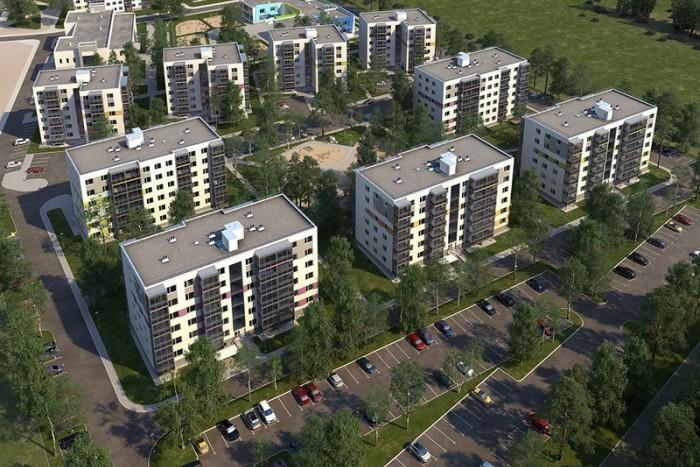 """Началось строительство четвертой очереди ЖК """"Gröna Lund"""""""
