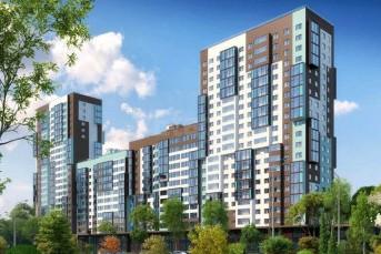 """Началось строительство новой очереди жилого комплекса """"Чистое небо"""""""