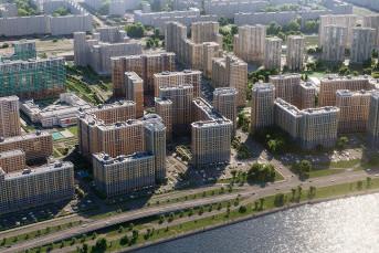 Новая квартира с отделкой в черте города за 24 800 в месяц!