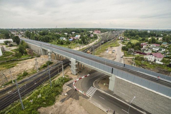 Обход Красного Села и Лиговский путепровод открыли для транспорта
