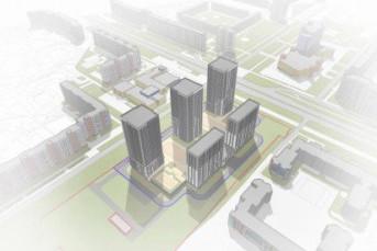 """RBI построит пять высоток у метро """"Улица Дыбенко"""""""