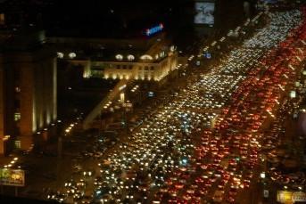 Самые загруженные (пробки) районы Санкт-Петербурга