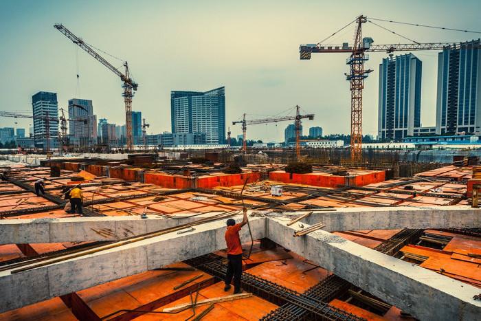Санкт-Петербург выбыл из пятерки регионов-лидеров по вводу жилья