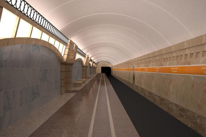 Срок сдачи трех станций метро перенесли на год