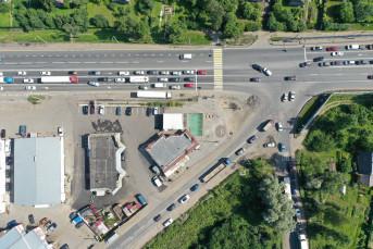 Участок трассы М-10 возле Ям-Ижоры ждет реконструкция