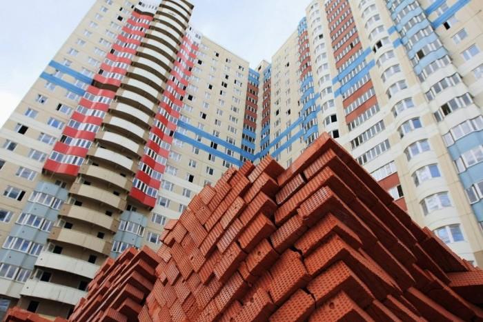 В феврале в Ленинградской области введено в эксплуатацию 263 000 кв.м жилья