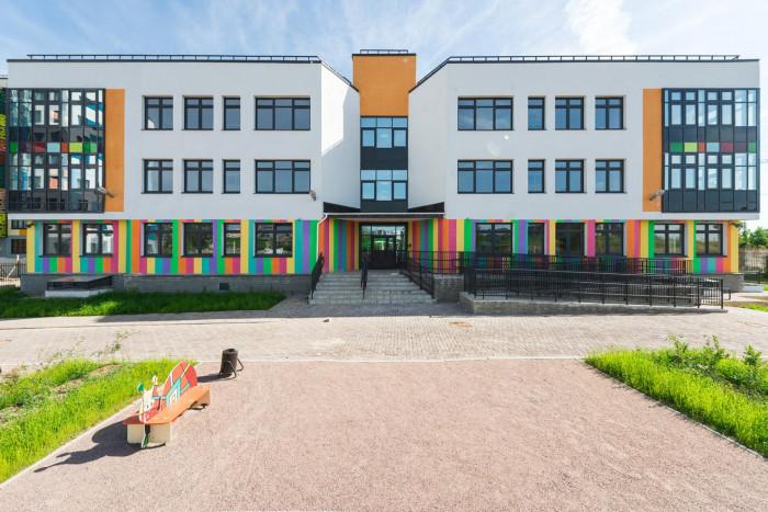 В Гатчине завершено строительство нового детсада