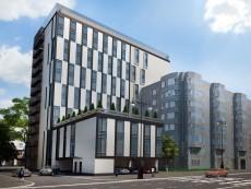 """В начале 2014 года введут в эксплуатацию апарт-отель """"Вертикаль"""" на Московском проспекте"""