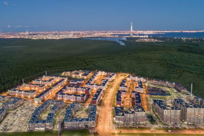 """В первом корпусе пятой очереди жилого района """"Юнтолово"""" началась продажа квартир"""