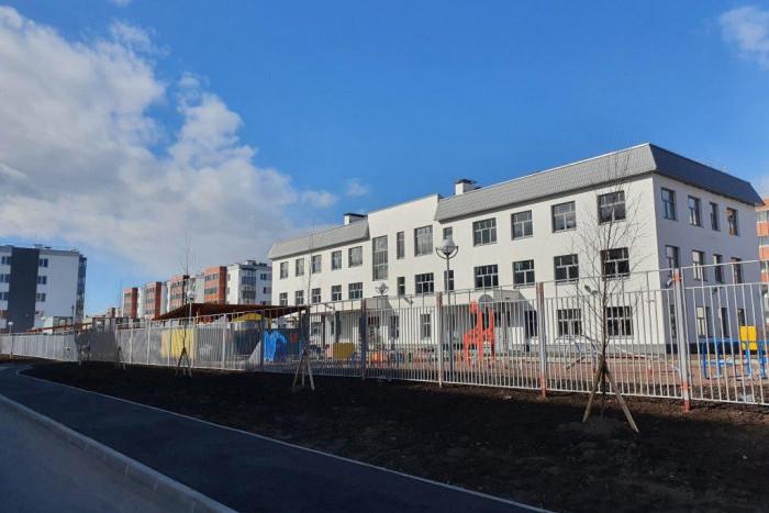 В Петергофе построили детский сад