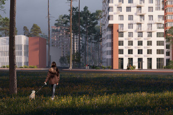 "В Сертолово построят комплекс по проекту бюро ""Остоженка"""