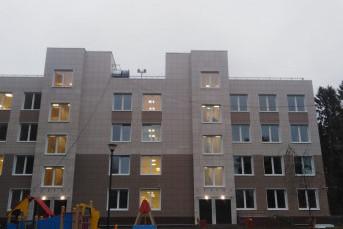 В Зеленогорске построили детскую поликлинику