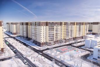 """В жилом комплексе """"Солнечный город"""" сдан еще один дом"""