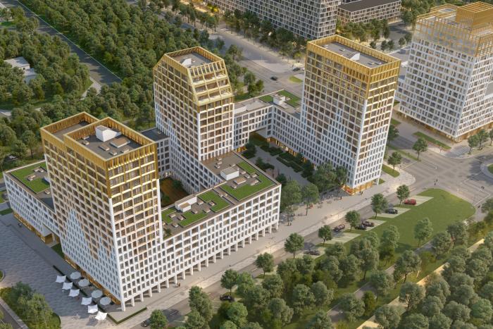 """В ЖК """"Golden City"""" началось строительство VII квартала"""
