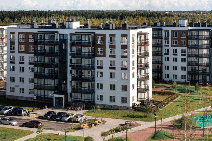 """В ЖК """"Grona Lund"""" сдано два дома"""