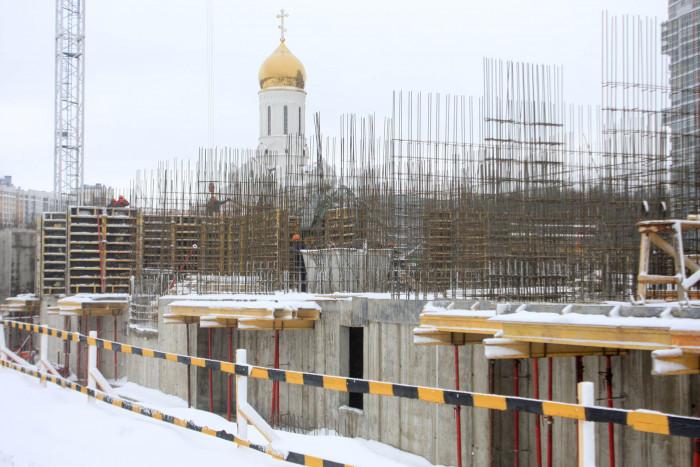 """В ЖК """"ПаркЛэнд"""" началось строительство первого этажа"""
