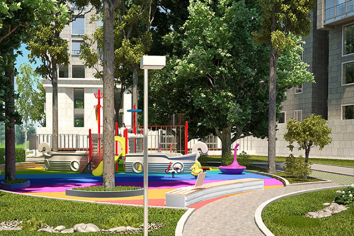 """В ЖК """"Смольный Парк"""" завершена реконструкция нескольких особняков"""