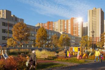 """В ЖК """"Цветной город"""" начинается заселение нового дома"""