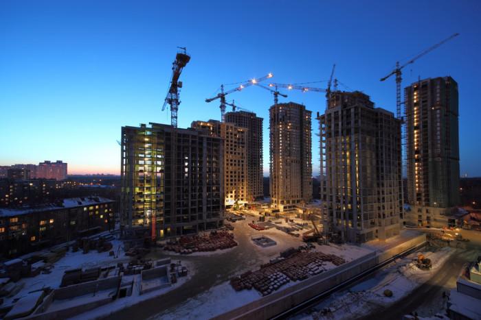 За 6 месяцев года в России введено более 30 млн квадратов жилья