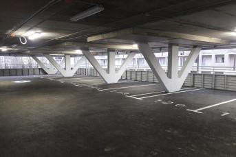 """В ЖК """"Георг Ландрин"""" построен паркинг"""