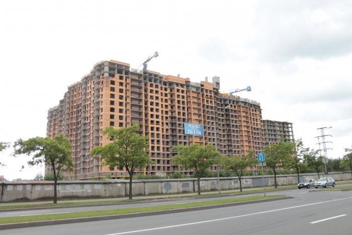 """ЖК """"Медалист"""": кирпичный дом с недорогими квартирами на месте складской постройки"""