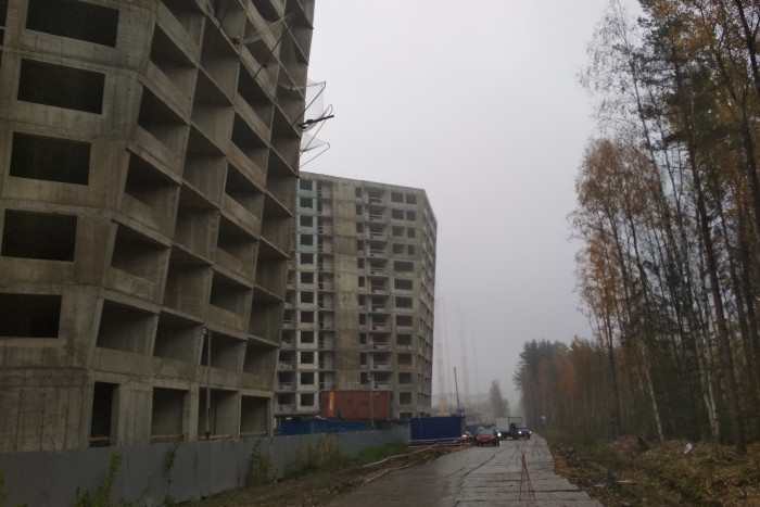 "ЖК ""New Time"": диалог с природой под гул ЗСД"